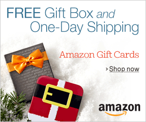 Always holiday Gift Cards promo off plus free one-day ship