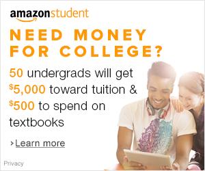 Amazon student scholarship