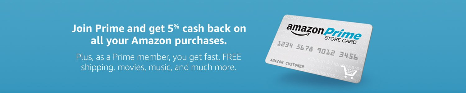 Free $20 Amazon gift cards & earn 5% back by Amazon Prime Store ...