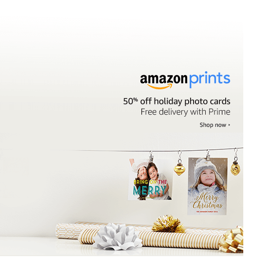 Amazon prints coupon code
