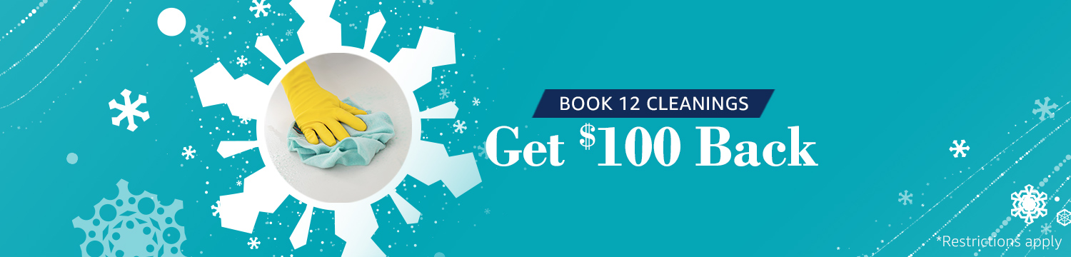 Book 12 House Cleanings & Get 0 Cash Back