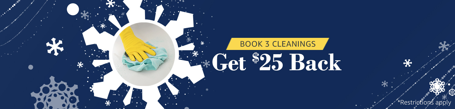Book 3 House Cleanings & Get Cash Back