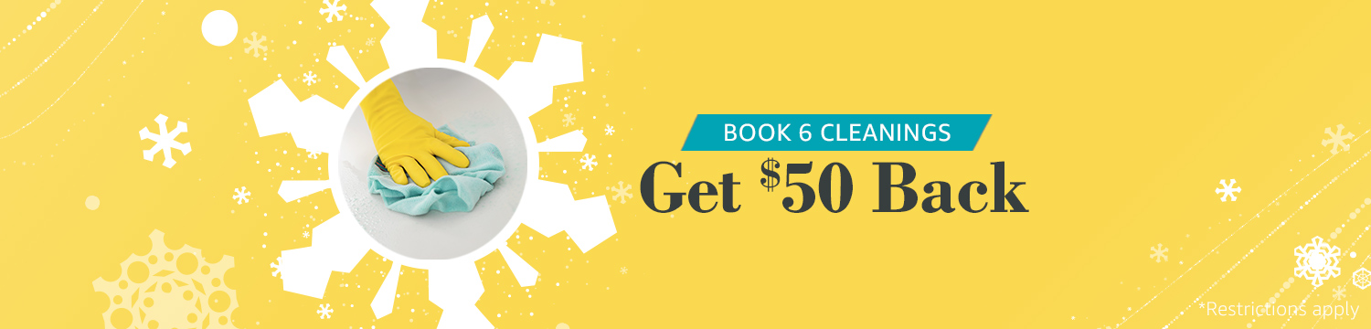 Book 6 House Cleanings & Get Cash Back