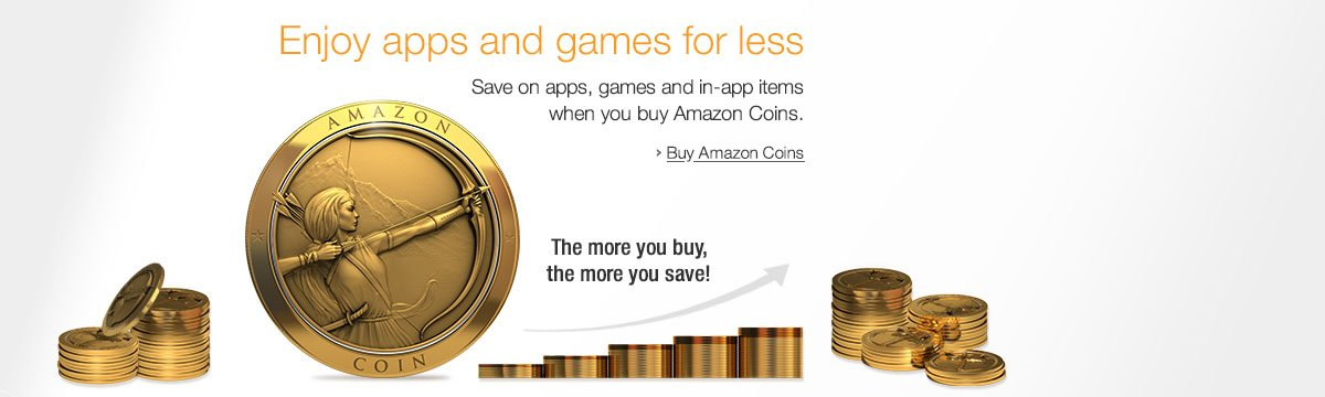 Amazon Coins benefits on promo