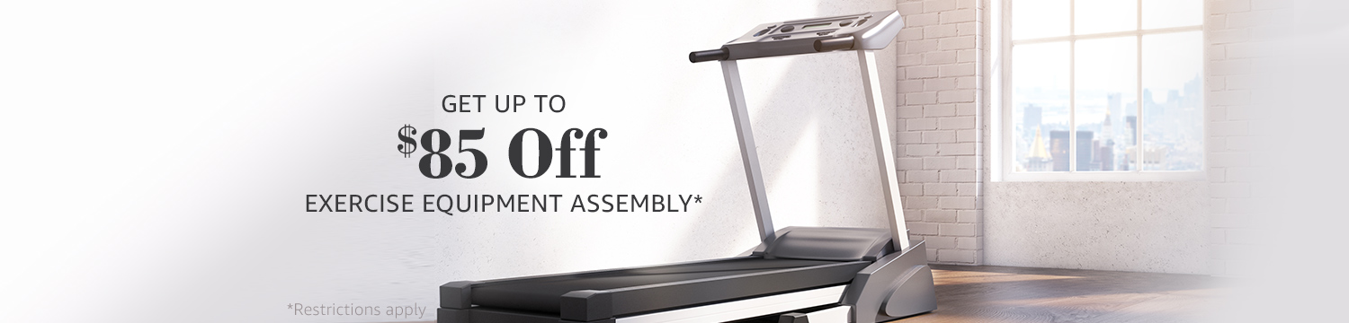 promo on Amazon Home Service assembly