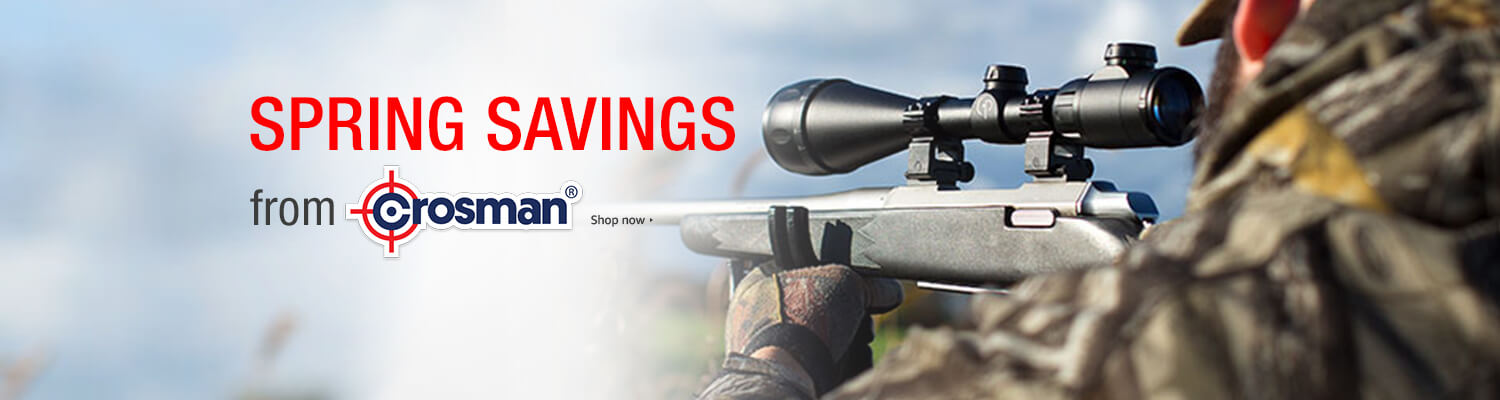 promo on Crosman products