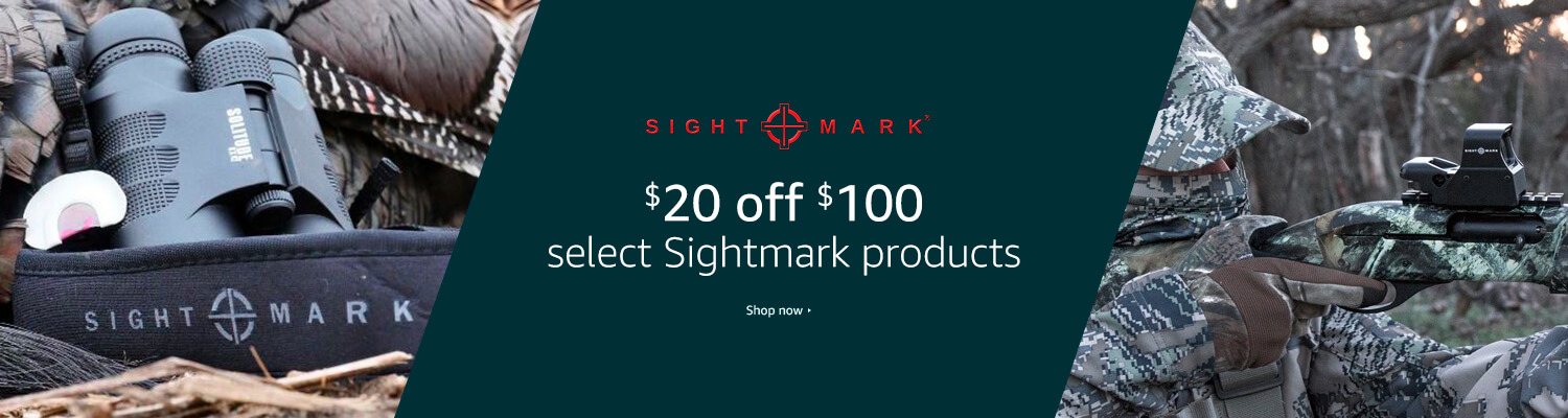 $20 off $100 Sightmark products