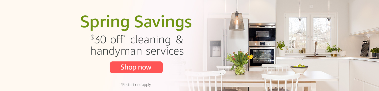 Extra $30 off Amazon Home service