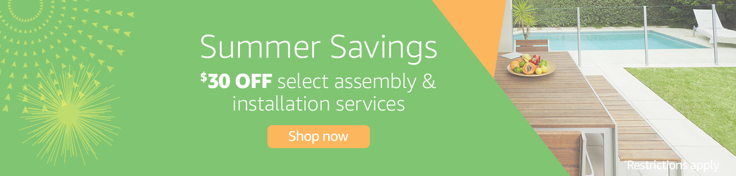 Save on Select Assembly & Installation Services