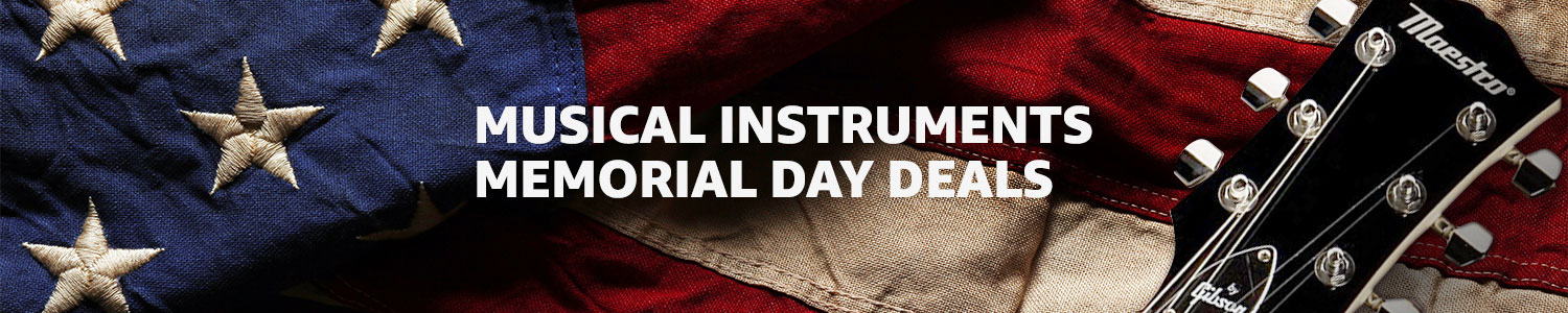 Musical Instruments Memorial Day Deals
