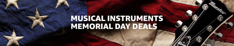 Musical Instruments Memorial Day Deals